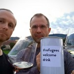 #refugeeswelcomedrink